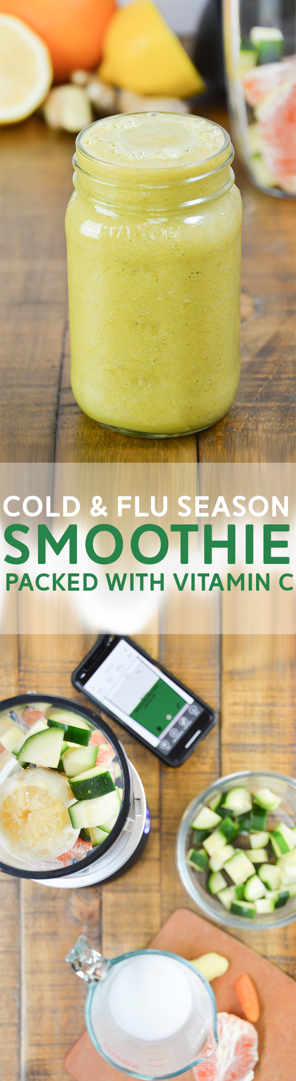 Cold & Flu Season Smoothie