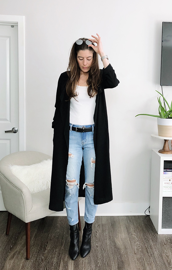 8b7e37d6778 Stitch Fix Review (April) - lightweight trench duster coat