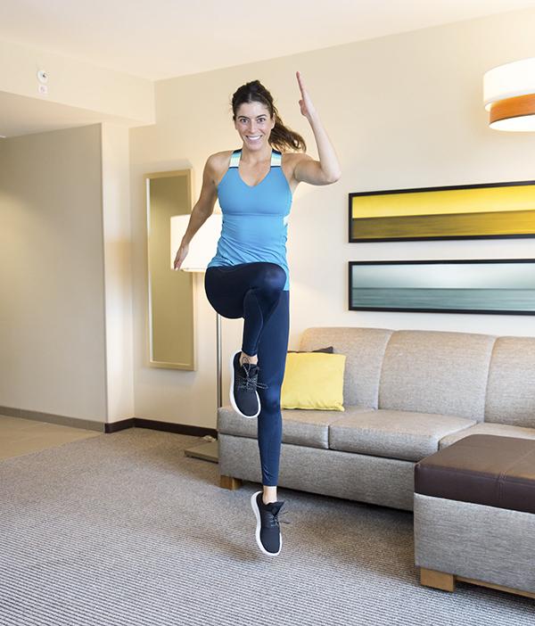 5 min pyramid workout hyatt place - 5-Minute Bodyweight Pyramid Workout