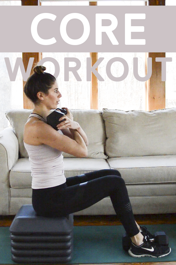 Heavy Core Workout (20 Mins) - core workout with some upper body and a heavy dumbbell #coreworkout #abs #workoutvideo