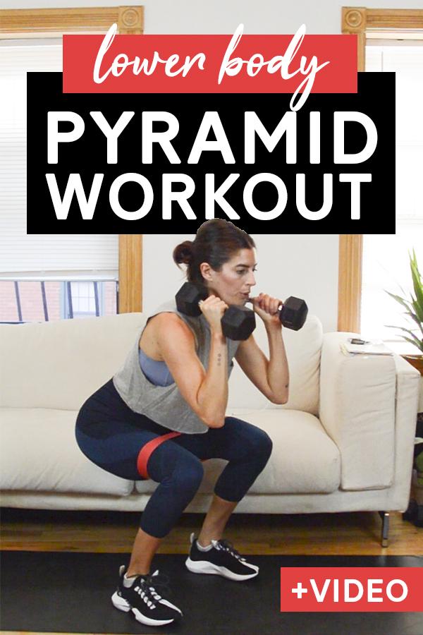 Lower Body Pyramid Workout (15 Mins)